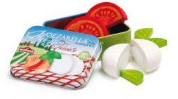 缶入りモッツァレラチーズとトマト(Erzi)