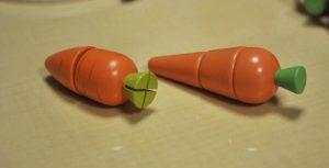 切れるお野菜比較、にんじん2