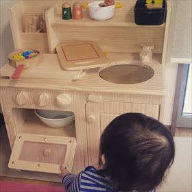おままごとキッチン使用例(ひの様)