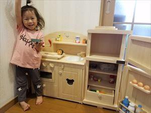 おままごとキッチンと冷蔵庫の使用例(たなか様3)