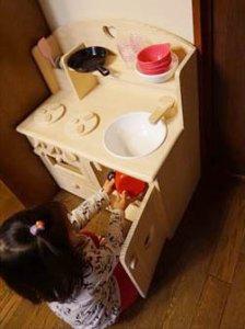 おままごとキッチンの使用例(小沢様)
